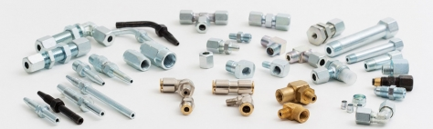 Imperial size fittings for centralized lubrication systems